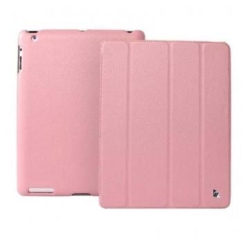 Чехол для new iPad 3 / iPad 2 / iPad 4 Jison Case Smart Leather розовый