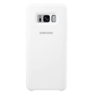 Чехол Samsung Silicone Cover для Galaxy S8,белый (EF-PG950TWEGRU)