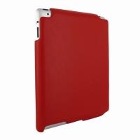 Piel Frama Imagnum кожаный чехол-накладка (red)