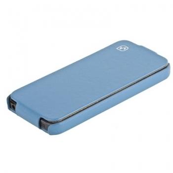 Чехол HOCO Duke Leather Case для iPhone 5 (blue)