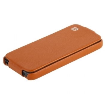 Чехол HOCO Duke Leather Case для iPhone 5 (Orange)