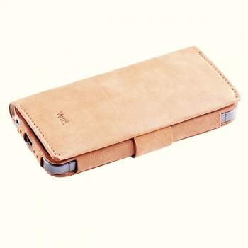 Чехол Vetti Lusso Case для iPhone 5 (Beige)