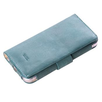Чехол Vetti Lusso Case для iPhone 5 (Green-blue)