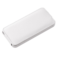 Vetti Craft Slim Flip Leather Case для iPhone 5 (белый)