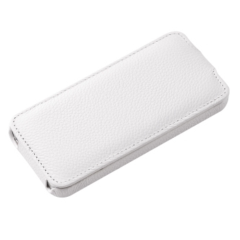 Чехол Vetti Craft Slim Flip Leather Case для iPhone 5 (белый)