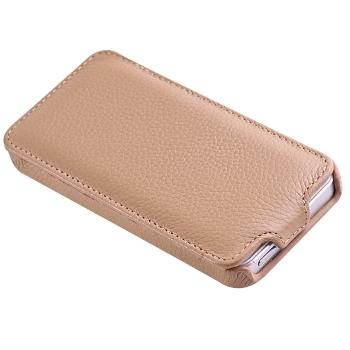 Чехол Vetti Craft Slim Flip Leather Case для iPhone 5 (бежевый)