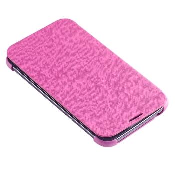Чехол книжка Flip Cover для Samsung Galaxy Note 2 N7100 (малиновый)