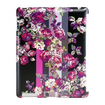 Чехол для new iPad 3 / iPad 2 / iPad 4 KENZO Kila Hard Case with Flourish Pattern