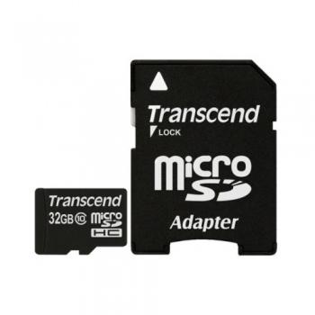 Карта памяти Transcend microSD 32GB Class 10