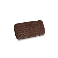 Borofone Crocodile Leather case для Samsung Galaxy S4 i9500 (brown)