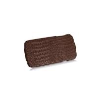 Borofone Crocodile Leather case для Samsung Galaxy S4 i9500 (brown)