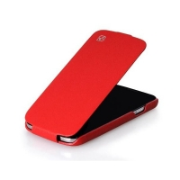 HOCO Leather case для Samsung Galaxy S4 i9500 (red)