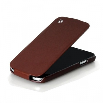 Чехол HOCO Leather case для Samsung Galaxy S4 i9500 (brown)