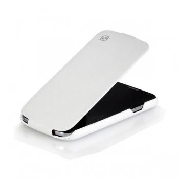 Чехол HOCO Leather case для Samsung Galaxy S4 i9500 (white)