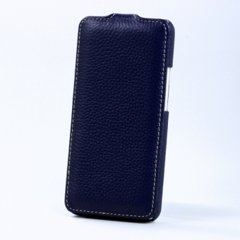 Чехол BONRONI Leather Case for New HTC One M7 (blue)