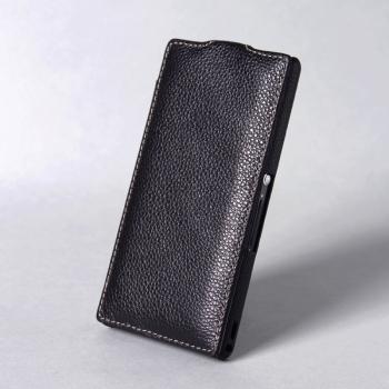 Чехол BONRONI Leather Case for Sony Xperia Z L36h (Black)