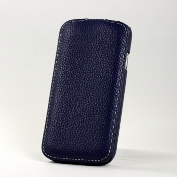 Чехол BONRONI Leather Case for Samsung Galaxy S4/IV GT-I9500 (blue)