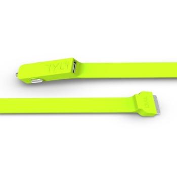 Зарядка автомобильная TYLT BAND для iPad 2/iPad 3/iPhone 4/4S (green)