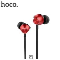 Наушники Hoco M32 Contented wave, универсальные с микрофоном (1.2 м), черно-красные