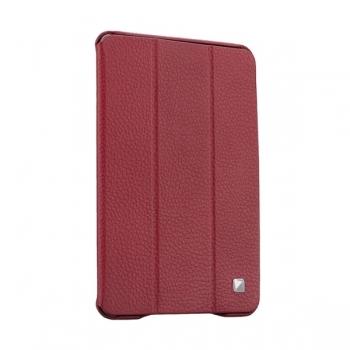 Чехол Mobler Texture для iPad mini/mini 2/mini 3  (бордовый)