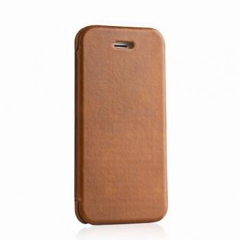 Чехол mobler Vintage (коричневый) для iPhone 5