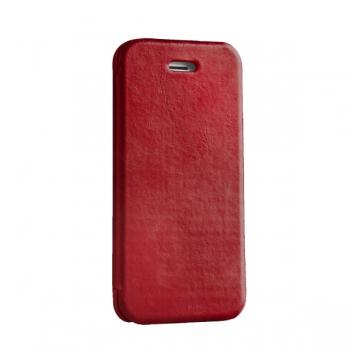 Чехол mobler Vintage (красный) для iPhone 5