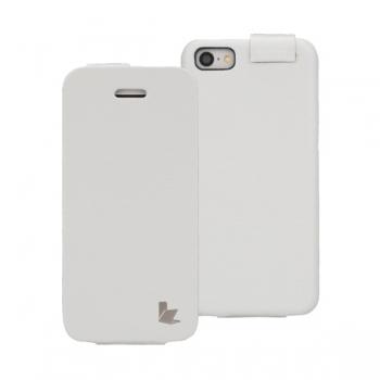 Чехол Jisoncase Fashion Flip (белый) для iPhone 5C