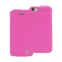 Jisoncase Fashion Flip (розовый) для iPhone 5C