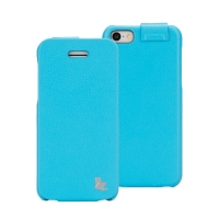 Jisoncase Fashion Flip (голубой) для iPhone 5C