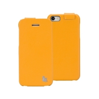 Jisoncase Fashion Flip (оранжевый) для iPhone 5C