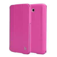 Jisoncase Classic Smart Case для Samsung Galaxy Tab 3 7.0 (Rose)