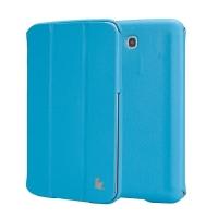 Jisoncase Classic Smart Case для Samsung Galaxy Tab 3 7.0 (blue)