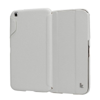 Jisoncase Classic Smart Case для Samsung Galaxy Tab 3 8.0 (white)