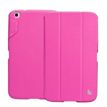Чехол Jisoncase Classic Smart Case для Samsung Galaxy Tab 3 8.0 (rose)