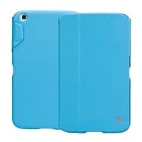 Jisoncase Classic Smart Case для Samsung Galaxy Tab 3 8.0 (blue)