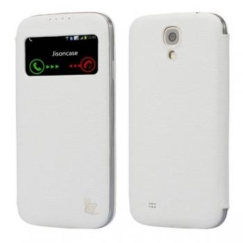 Чехол Jison Case Fashion Folio для Samsung Galaxy S4 i9500 (white)