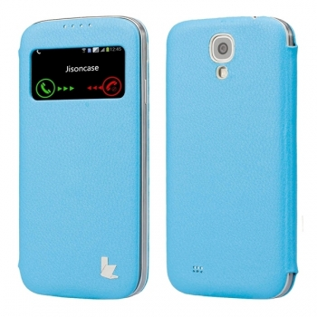 Чехол Jison Case Fashion Folio для Samsung Galaxy S4 i9500 (blue)