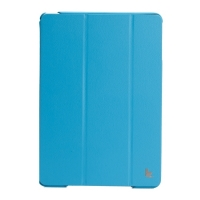 Jisoncase Premium Smart Cover для iPad Air (синий)