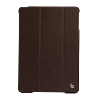 Jisoncase Premium Smart Cover для iPad Air (коричневый)