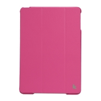 Jisoncase Premium Smart Cover для iPad Air (розовый)