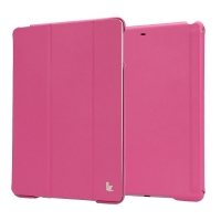 "Jisoncase Premium Smart Cover для iPad 9.7""(2017) розовый"