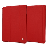 Jisoncase Premium Smart Cover для iPad Air (красный)