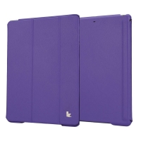 Jisoncase Premium Smart Cover для iPad Air (фиолетовый)