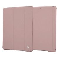 Jisoncase Premium Smart Cover для iPad Air (светло-розовый)