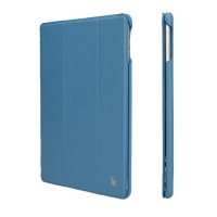 "Чехол Jisoncase Smart Leather Case  для iPad 9.7""(2017) синий"