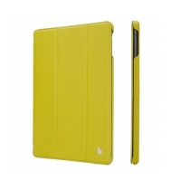 Jisoncase Smart Leather Case для iPad Air (зеленый)