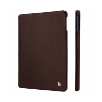 Jisoncase Smart Leather Case для iPad Air (коричневый)