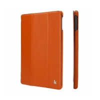 Jisoncase Smart Leather Case для iPad Air  (оранжевый)