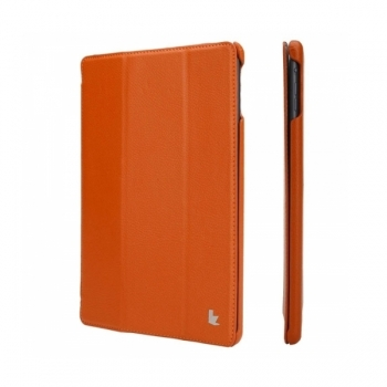 Чехол Jisoncase Smart Leather Case для iPad Air  (оранжевый)