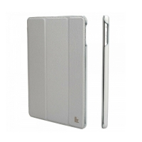 Jisoncase Smart Leather Case для iPad Air (серый)
